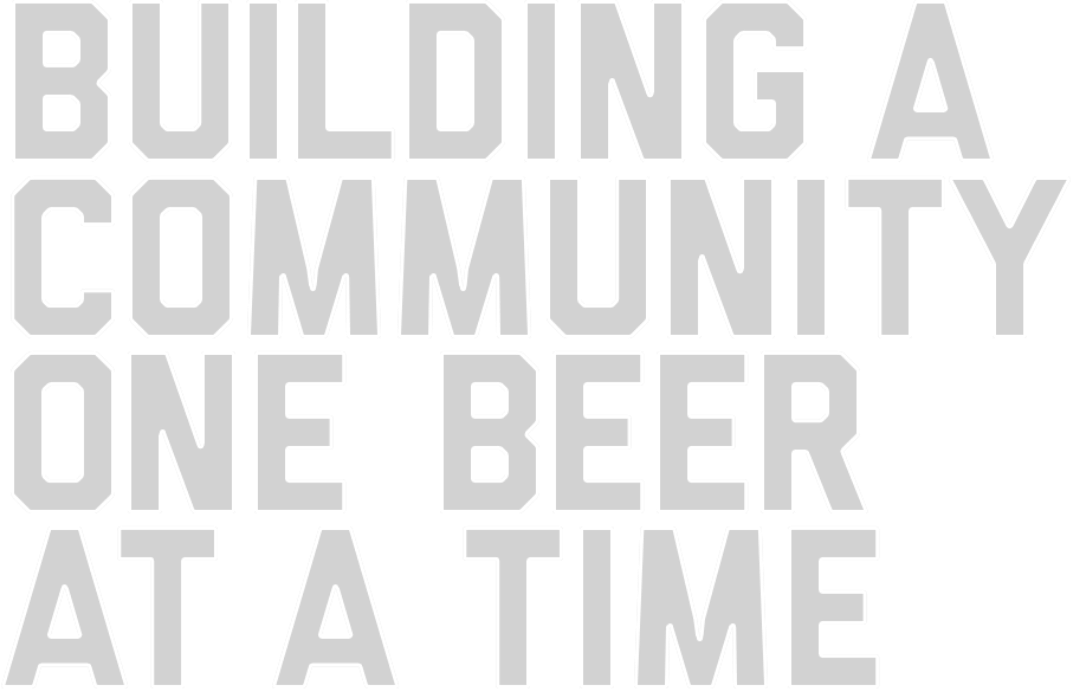 Building a community one beer at a time